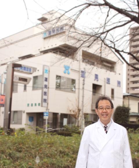 蓮見医院・先生・新年インタビュー1